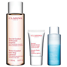 Buy Clarins Skincare Heroes Set Online at johnlewis.com