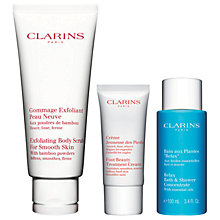 Buy Clarins Foot Pampering Essentials Kit Online at johnlewis.com