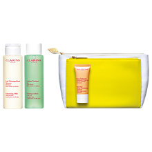 Buy Clarins Cleansing Trousse Set, Combination / Oily Skin Online at johnlewis.com