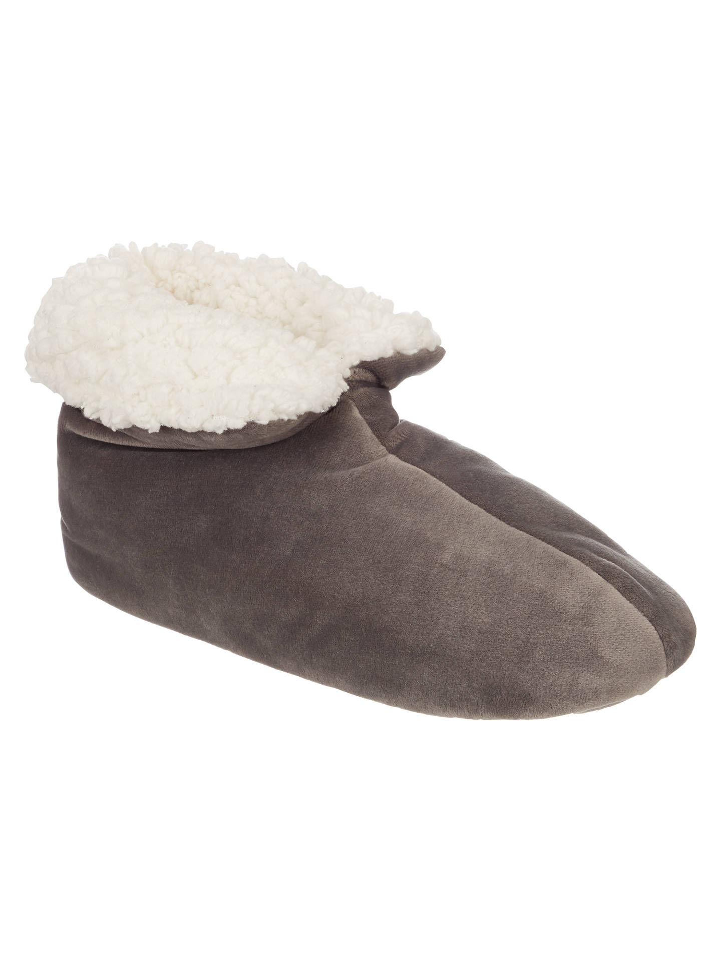 BuyJohn Lewis Faux Sheepskin Foot Duvets, Grey Online at johnlewis.com
