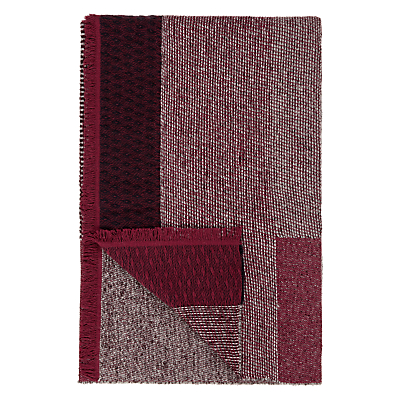 John Lewis Sussex Check Knit Throw