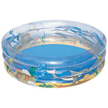 "Buy Bestway 67 x 21""/170 x 53cm Transparent Sea Life Pool Online at johnlewis.com"