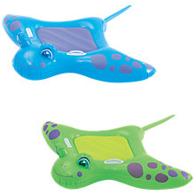 Buy Bestway Manta Ray Ride On, Assorted Colours Online at johnlewis.com