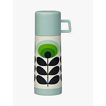 Buy Orla Kiely 70s Oval Flower Flask, Green/Multi, 350ml Online at johnlewis.com