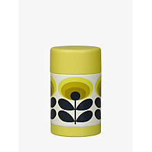 Buy Orla Kiely 70s Oval Flower Food Flask, Yellow, Multi, 500ml Online at johnlewis.com