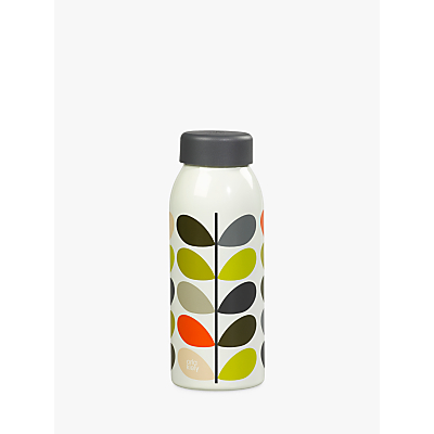 Orla Kiely Multi Stem Insulated Water Bottle, 500ml