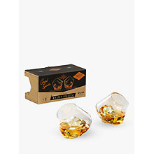 Buy Gentlemen's Hardware Rocking Whiskey Glasses, Set of 2 Online at johnlewis.com