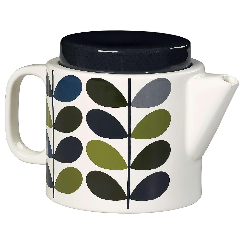 Buyorla Kiely Linear Stem Tea Pot, Khaki Marine, 1L Online