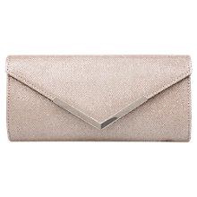 Buy Carvela Daphne 2 Matchbag Clutch Bag, Silver Online at johnlewis.com