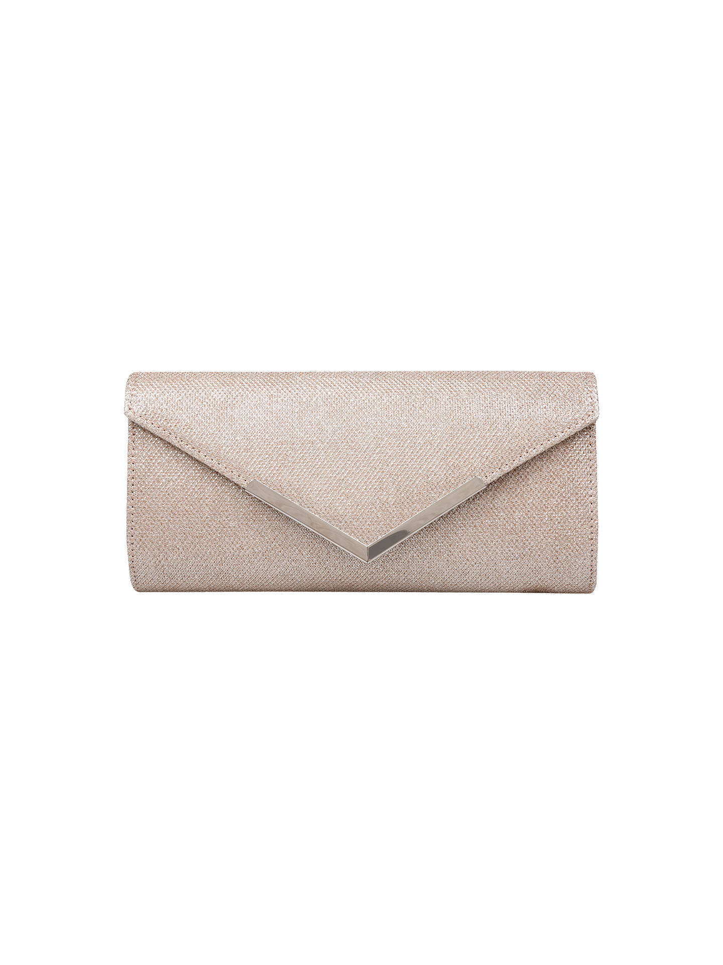 BuyCarvela Daphne 2 Matchbag Clutch Bag, Gold Online at johnlewis.com