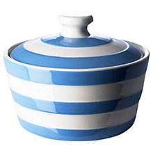 Buy Cornishware Butter Dish, Blue/White, Seconds Online at johnlewis.com