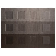 Buy Chilewich Engineered Squares Rectangular Placemat, Grey Online at johnlewis.com