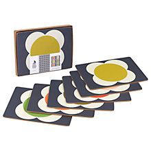 Buy Orla Kiely Flower Spot Placemat, Set of 6, Multi Online at johnlewis.com