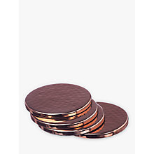Buy Just Slate Copper Coasters, Set of 4 Online at johnlewis.com