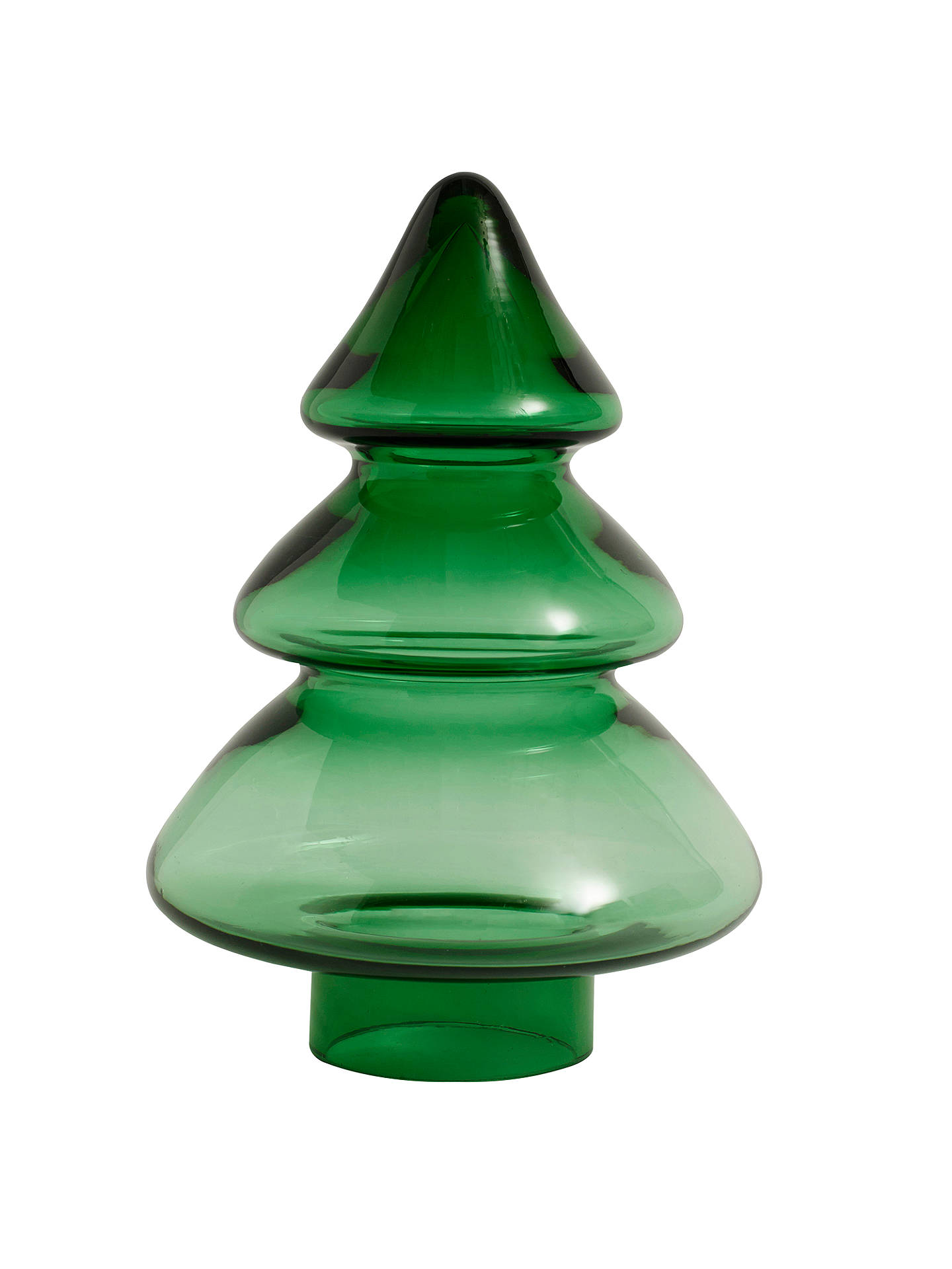 John Lewis Christmas Tree Decorations.John Lewis Large Glass Christmas Tree Ornament Green At