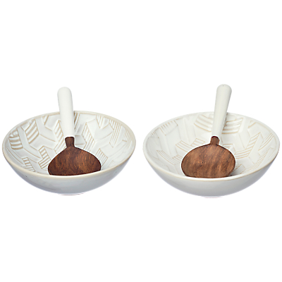 Just Slate Ceramic Serving Bowl Set