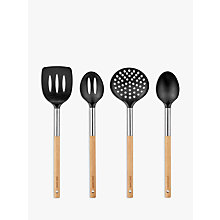 Buy John Lewis Croft Collection Nylon and Wood Kitchen Utensils Online at johnlewis.com