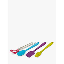 Buy Colourworks Mini Tool Set, Silicone, Set of 4 Online at johnlewis.com