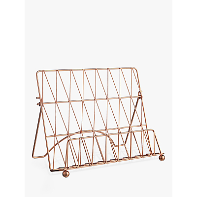 Croft Collection Copper Cookbook Stand