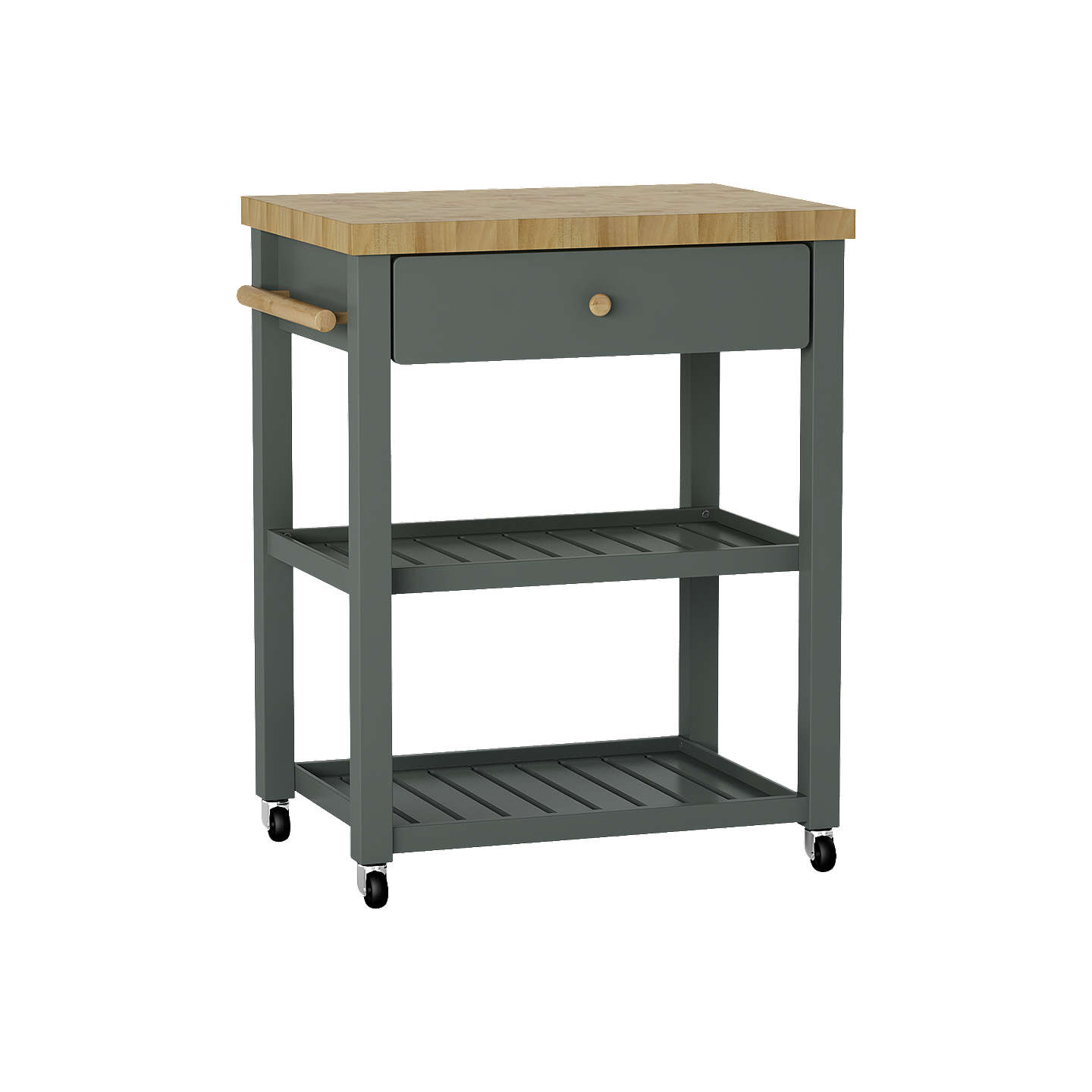 Croft Collection Wood Butcher\'s Trolley at John Lewis