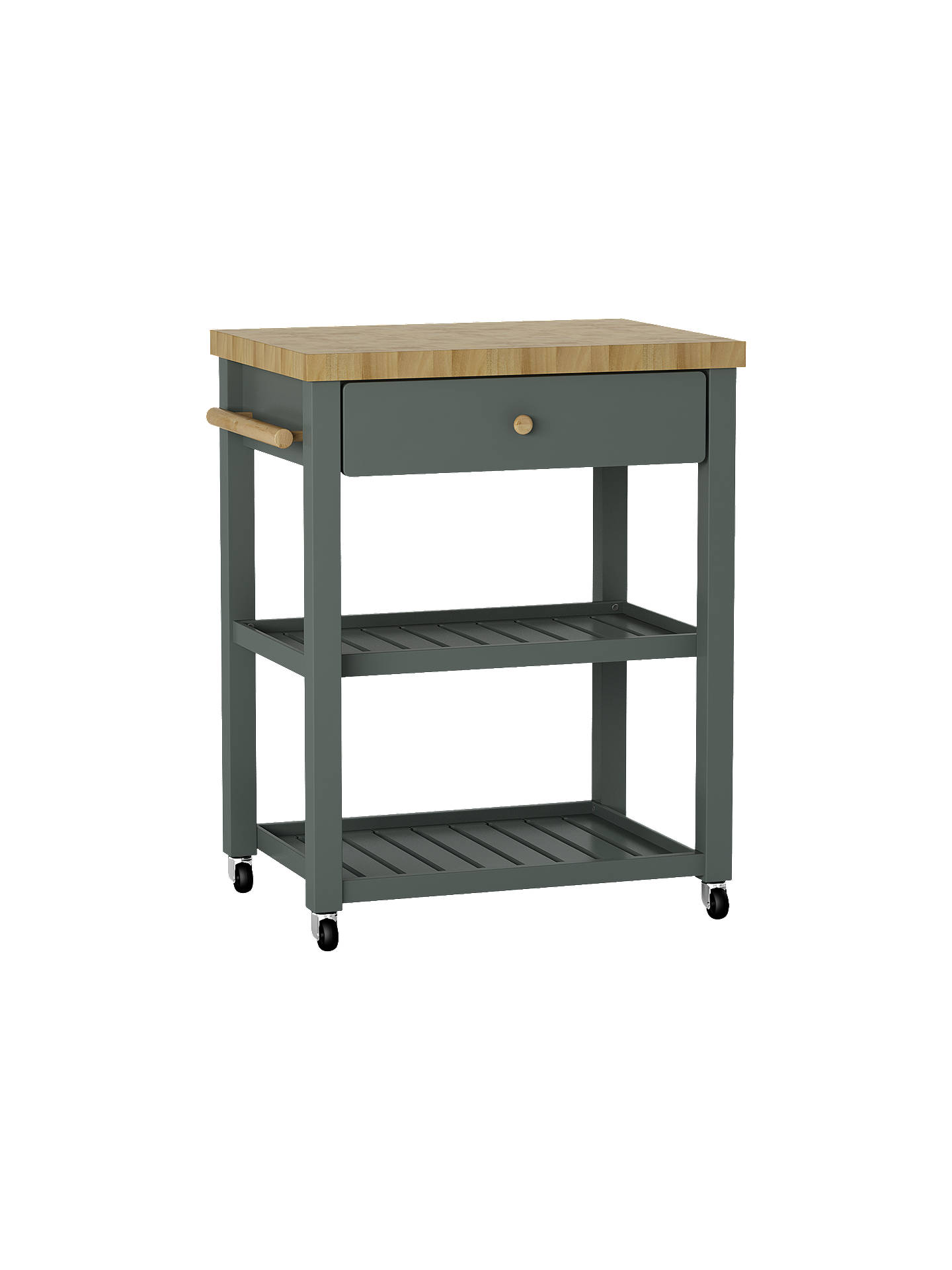 Croft Collection Wood Butcher's Trolley at John Lewis & Partners