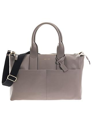 JEM + BEA Jemima Tote Changing Bag, Grey