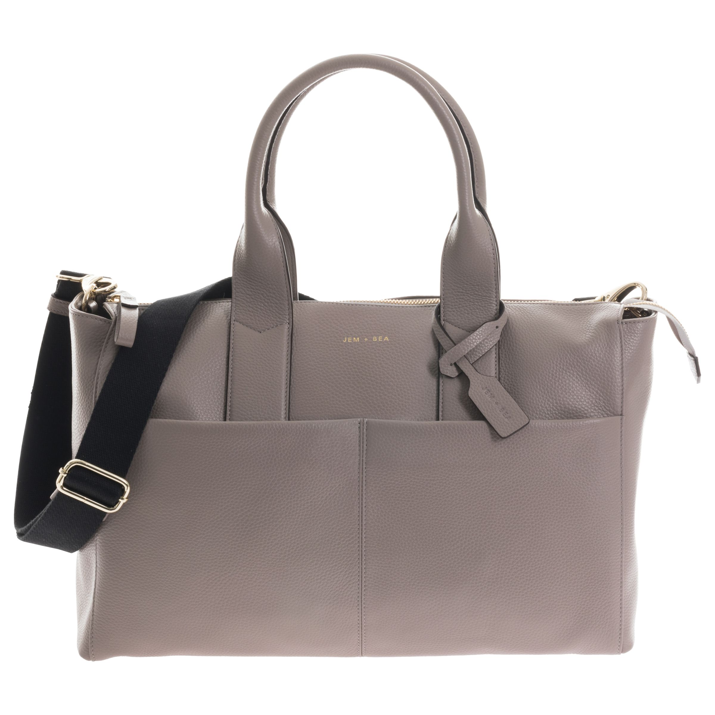 Jem + Bea JEM + BEA Jemima Tote Changing Bag, Grey