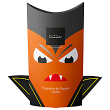 Buy Hotel Chocolat Halloween Cryptopher the Vampire Caramel Chocolate Boo Box, 145g Online at johnlewis.com