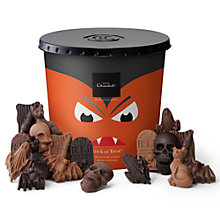 Buy Hotel Chocolat Halloween Trick Or Treat Bucket, Box of 60, 540g Online at johnlewis.com