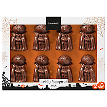 Buy Hotel Chocolat Halloween Tiddly Vampires Milk Chocolates, Box of 8, 85g Online at johnlewis.com