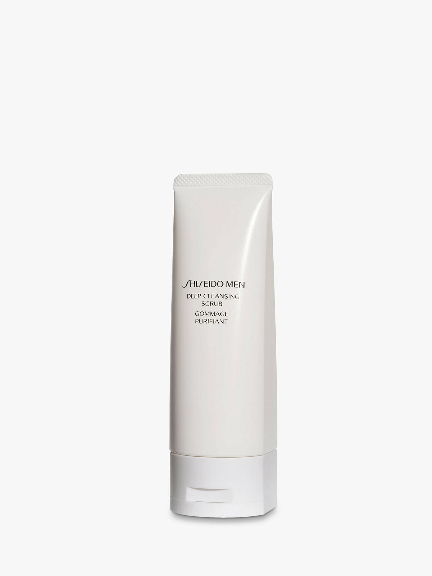 Buy Shiseido Men Deep Cleansing Scrub, 125ml Online at johnlewis.com