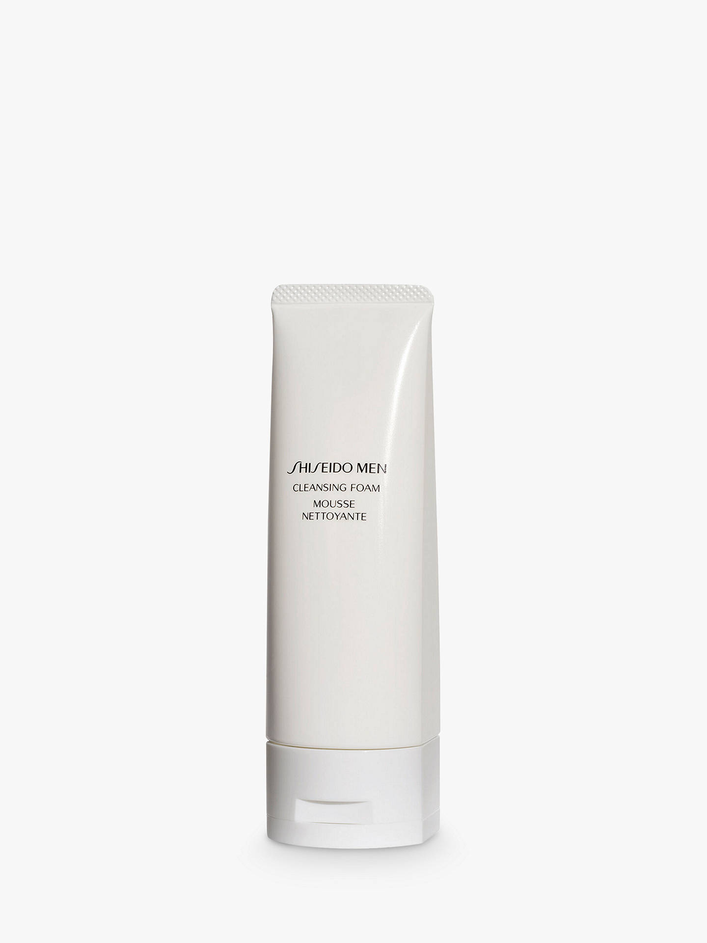 BuyShiseido Men Cleansing Foam, 125ml Online at johnlewis.com