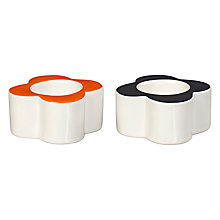 Buy Orla Kiely Ceramic Flower Egg Cups, Set of 2, White/Multi Online at johnlewis.com