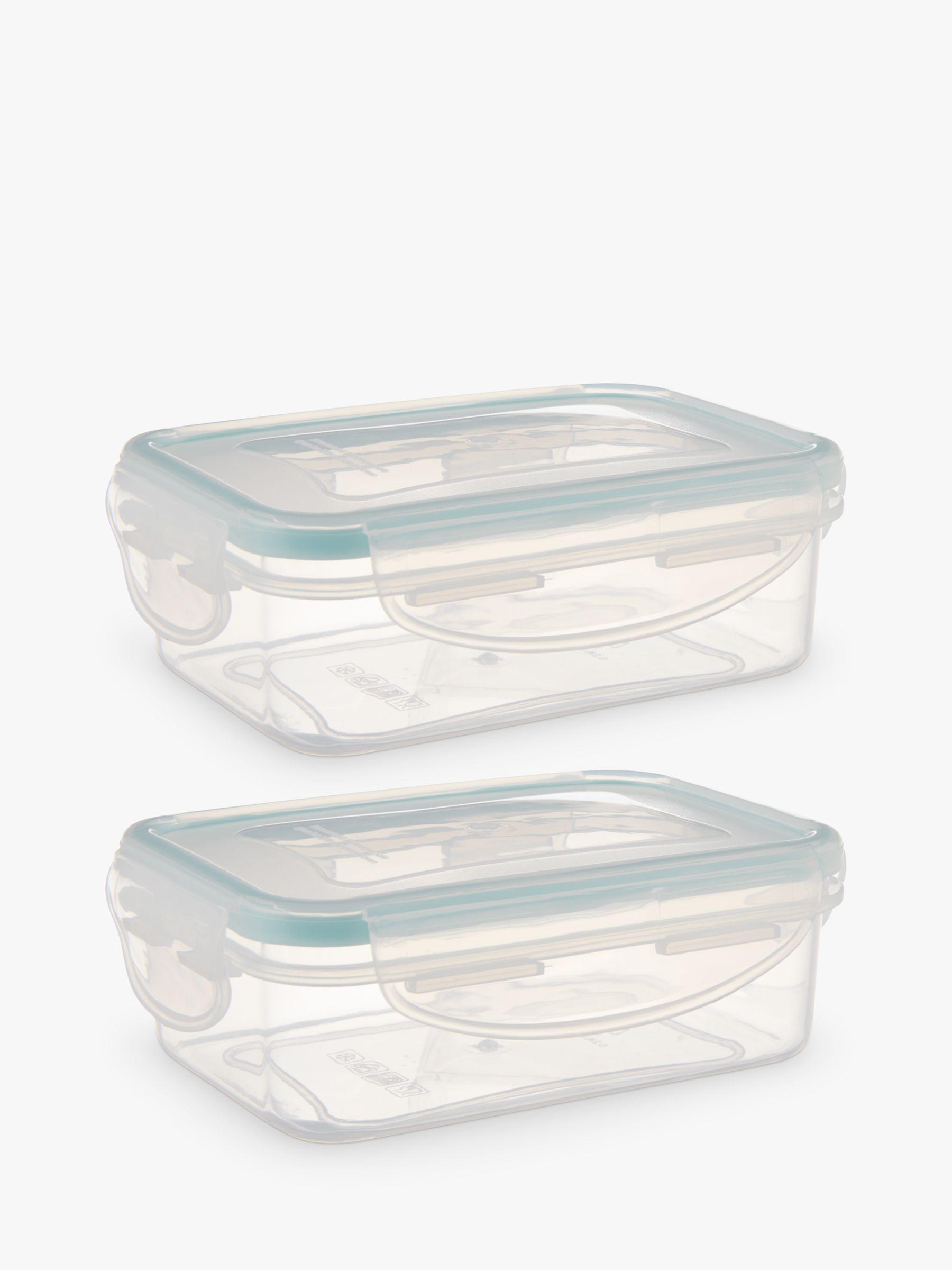 John Lewis Polypropylene Snack Pot Storage Containers Set of 2
