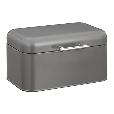 House by John Lewis Steel Bread Bin