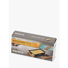 Buy Boska 'Partyclette' Raclette Server, Oak Online at johnlewis.com