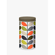 Buy Orla Kiely Tin Multi Stem Canister Online at johnlewis.com
