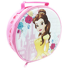 Buy Beauty and The Beast Round Lunch Bag, Pink/Multi Online at johnlewis.com