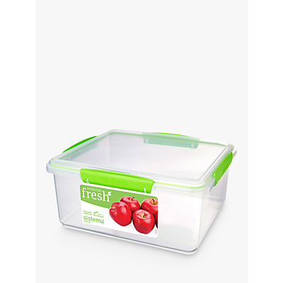 Sistema Fresh Rectangular Storage Container, 5L