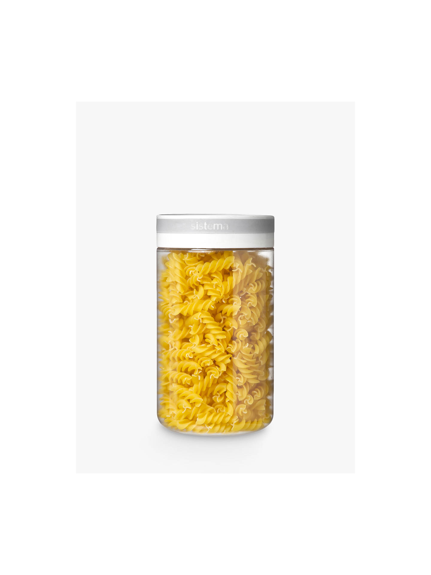 BuySistema Tritan Storage Canister, 1.2L Online at johnlewis.com