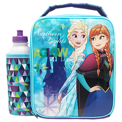 Frozen Magical Combo Lunch Bag And Bottle, Blue/Multi