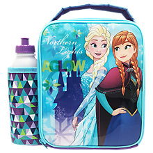 Buy Frozen Magical Combo Lunch Bag And Bottle, Blue/Multi Online at johnlewis.com