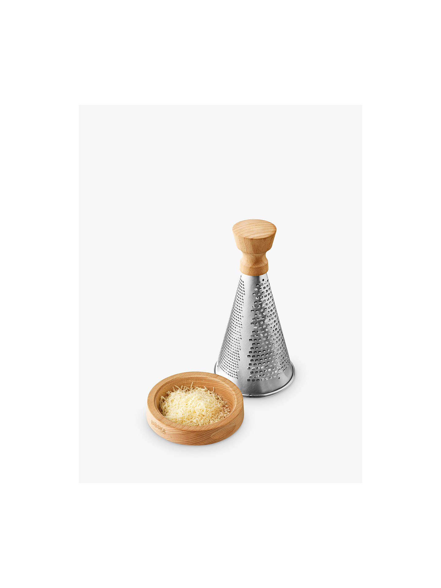 BuyBoska Oak Handle Table Grater, Stainless Steel Online at johnlewis.com