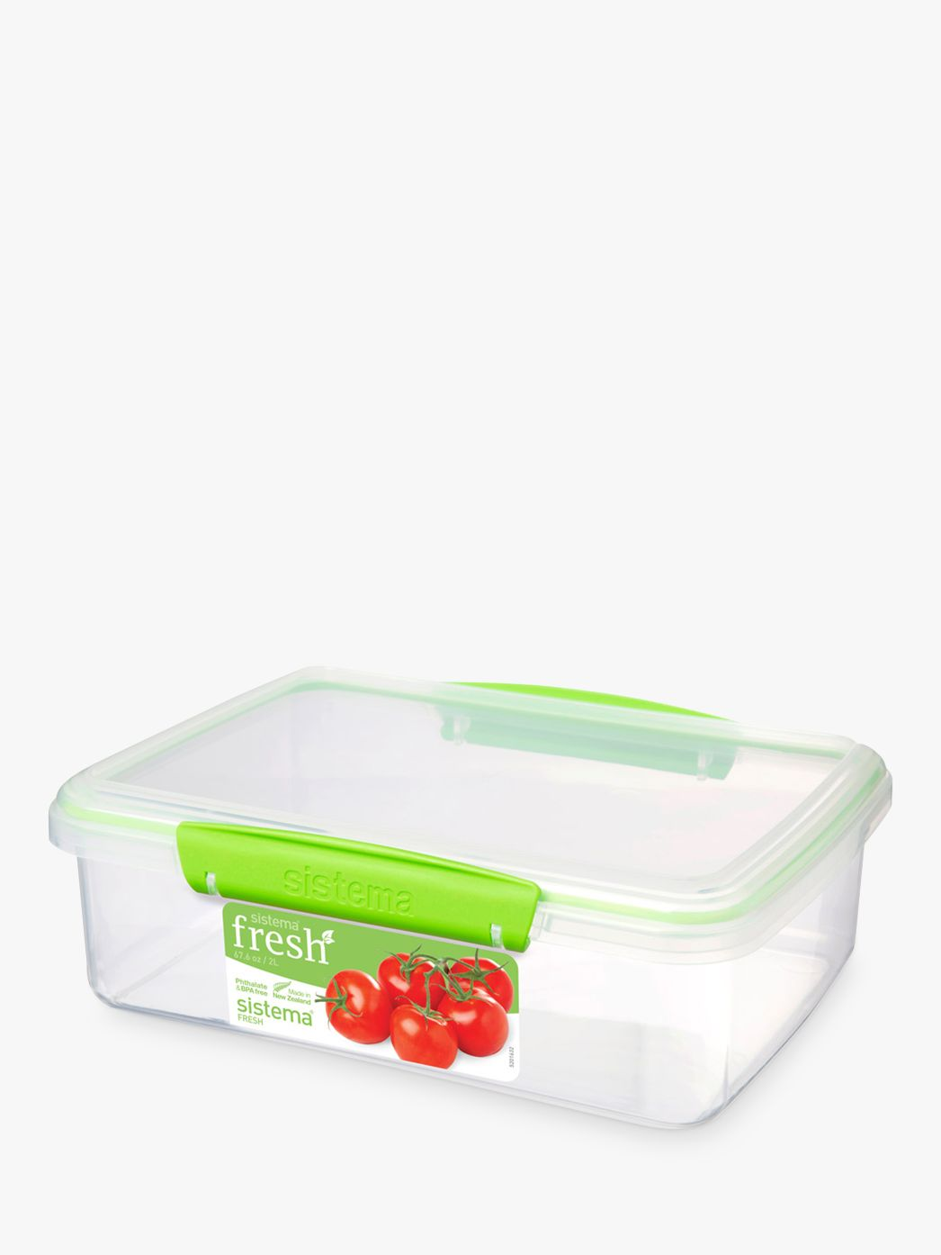 Sistema Fresh Rectangular Storage Container 2L at John Lewis