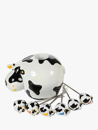 Buy Boska Cow-Shaped Cheese Cube Party Picks Set Online at johnlewis.com