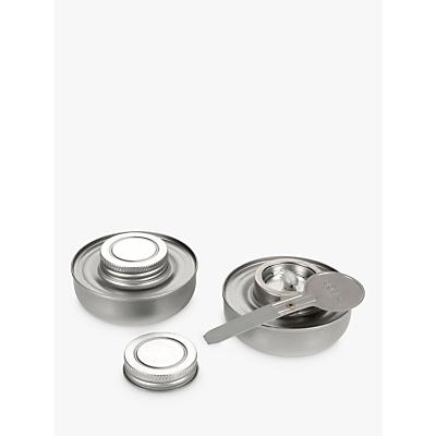 Boska Fondue Fuel Safe, Silver