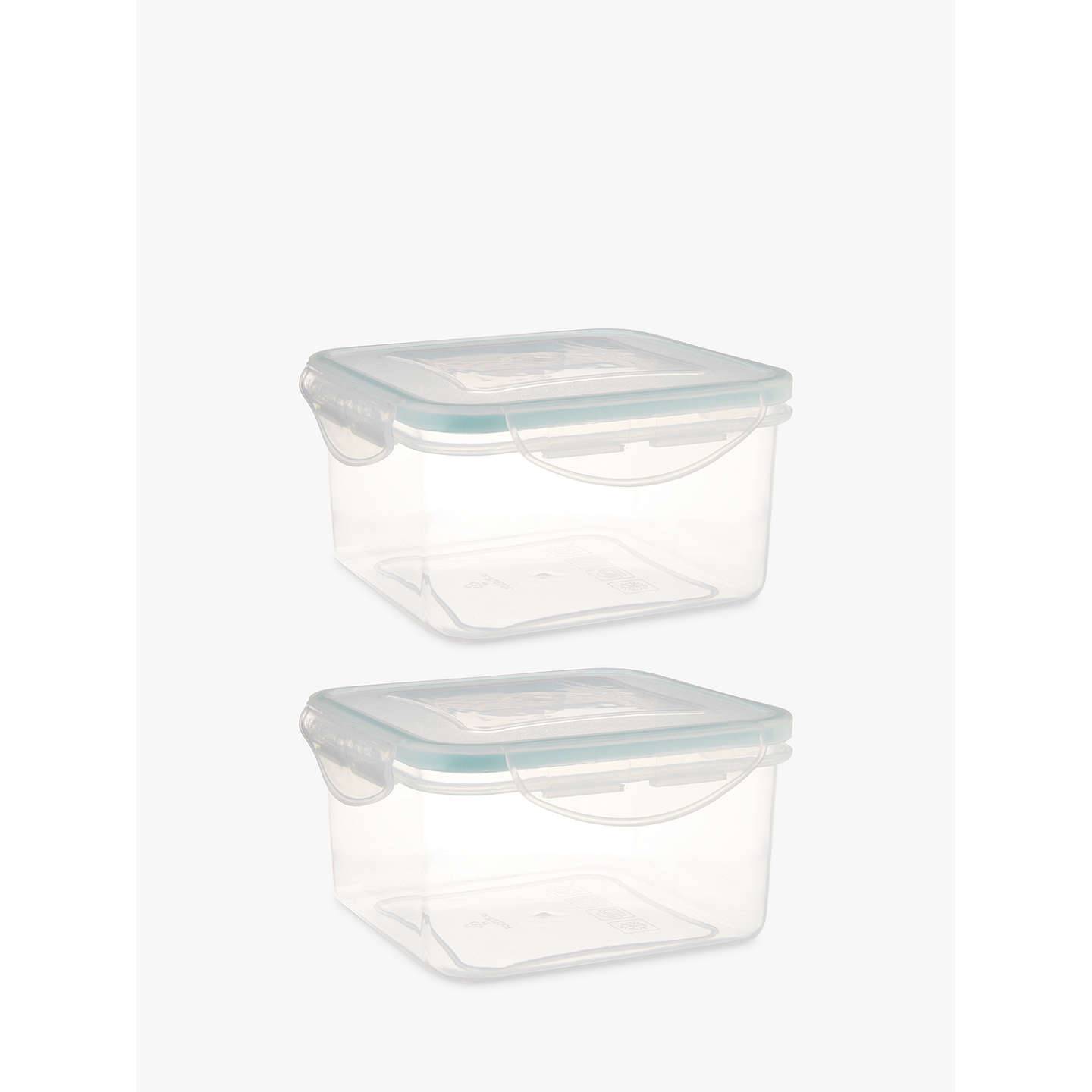 BuyJohn Lewis Polypropylene Storage Containers Set of 2 Clear 700ml Online at johnlewis ...  sc 1 st  John Lewis & John Lewis Polypropylene Storage Containers Set of 2 Clear 700ml ...