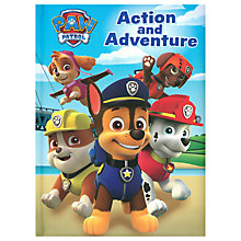 Buy Paw Patrol Action and Adventure Children's Book Online at johnlewis.com