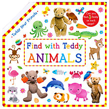 Buy Find With Teddy Animals Children's Book Online at johnlewis.com