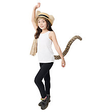 Buy Telltails Leaping Leopard Fancy Dress Tail Online at johnlewis.com